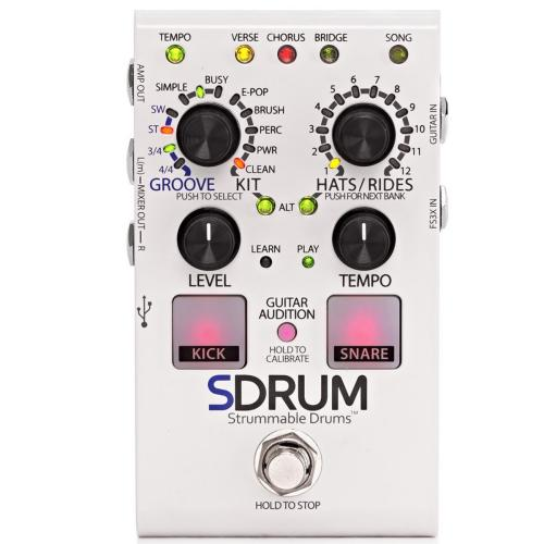 DigiTech SDRUM Auto-Drummer Pedal with BeatScratch Pads | Kincaid's Is Music