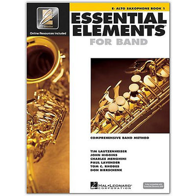 Essential Elements for Band - Book 1 Alto Saxophone  | Kincaid's Is Music