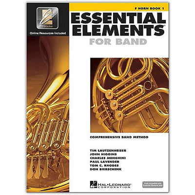 Essential Elements for Band - Book 1 French Horn | Kincaid's Is Music
