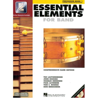Essential Elements for Band - Book 1 Percussion | Kincaid's Is Music