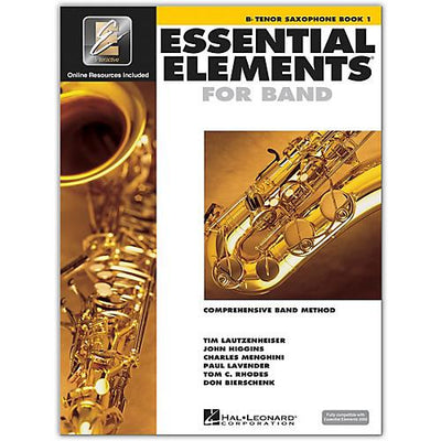 Essential Elements for Band - Book 1 Tenor Saxophone  | Kincaid's Is Music