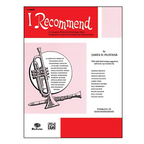 I Recommend: A Complete Warm-Up Technique Book | Kincaid's Is Music