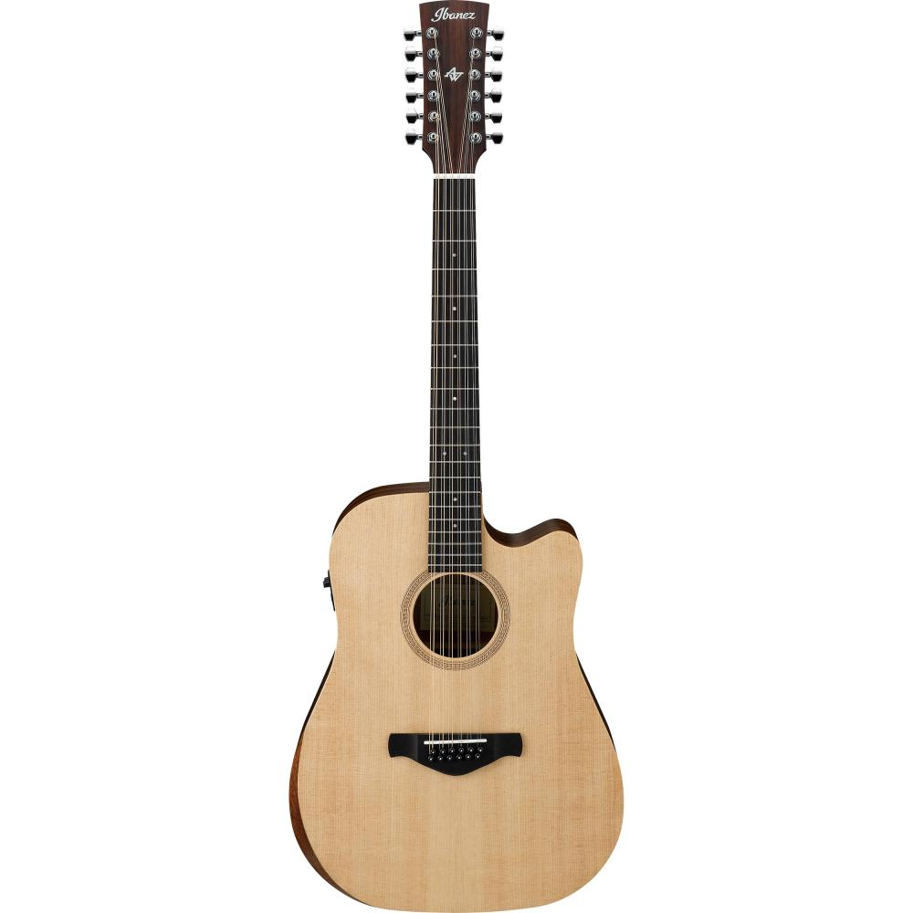 Ibanez 12-String Artwood Series Acoustic-Electric Guitar, Natural | Kincaid's Is Music