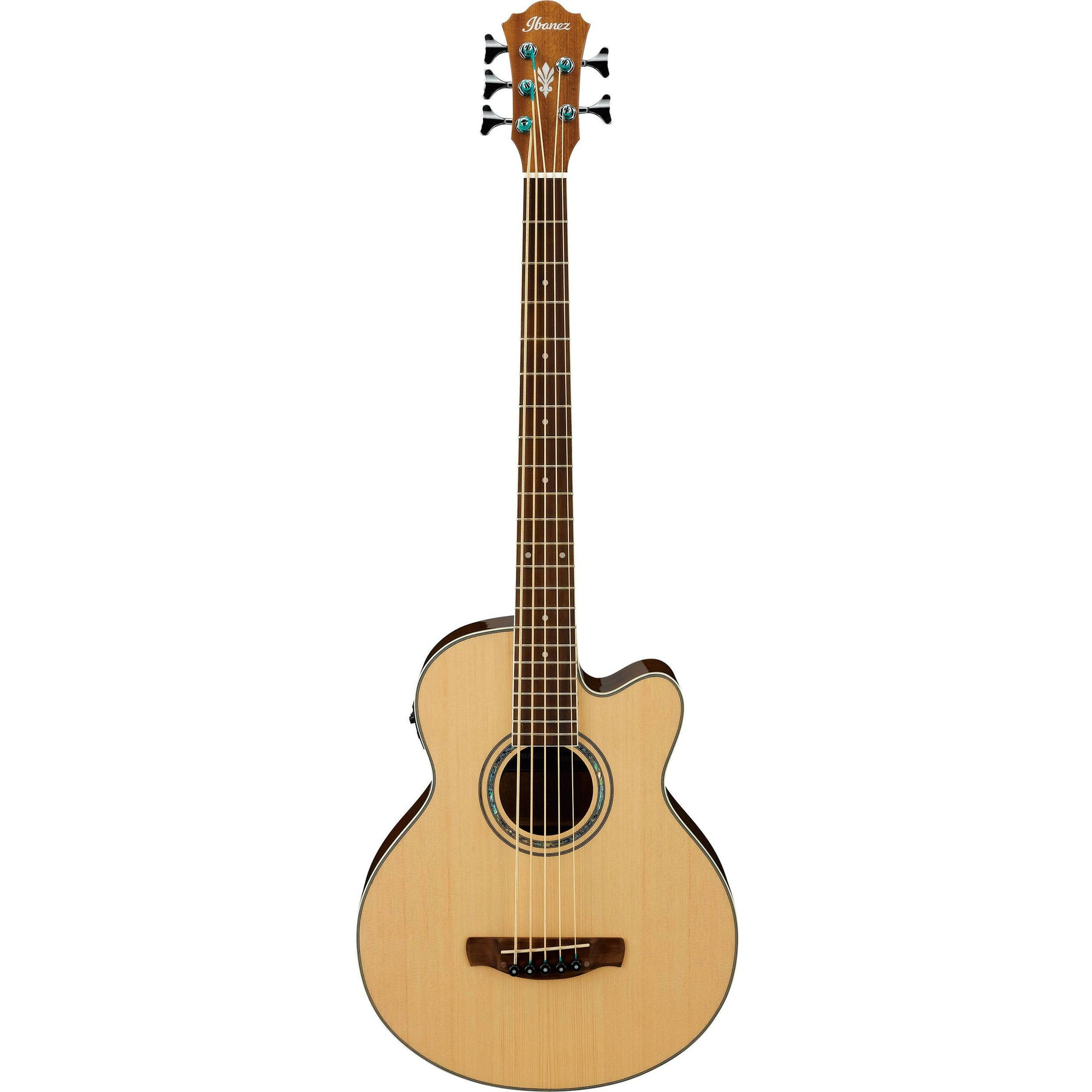 Ibanez Natural High Gloss 5-String Acoustic-Electric Bass Guitar | Kincaid's Is Music