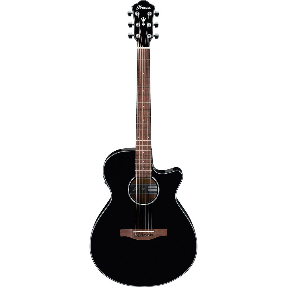 Ibanez AEG50 Cutaway Acoustic Electric Guitar, Black High Gloss