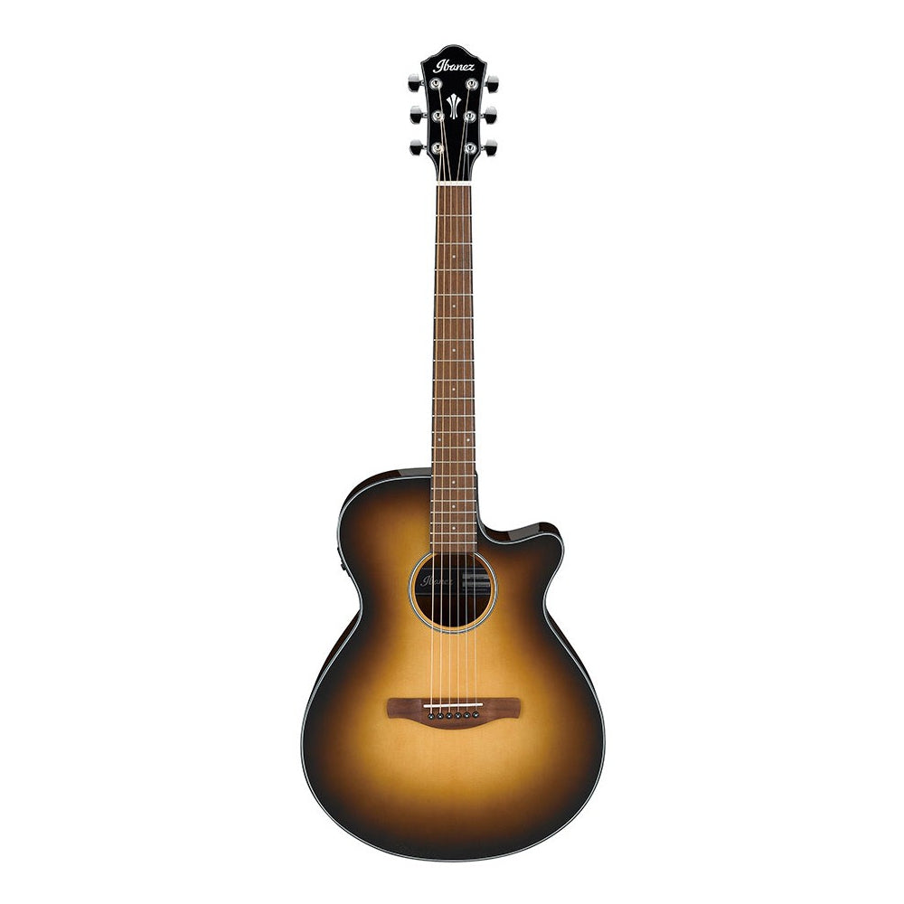 Ibanez AEG50 Cutaway Acoustic Electric Guitar, Dark Honey Burst High Gloss