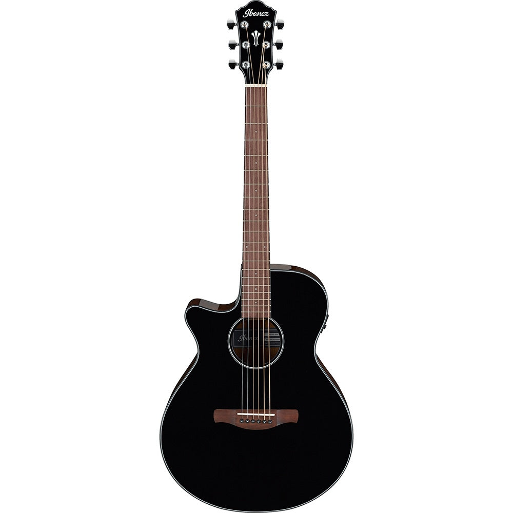 Ibanez AEG50L Cutaway Left-Handed Acoustic-Electric Guitar, Black High Gloss | Kincaid's Is Music
