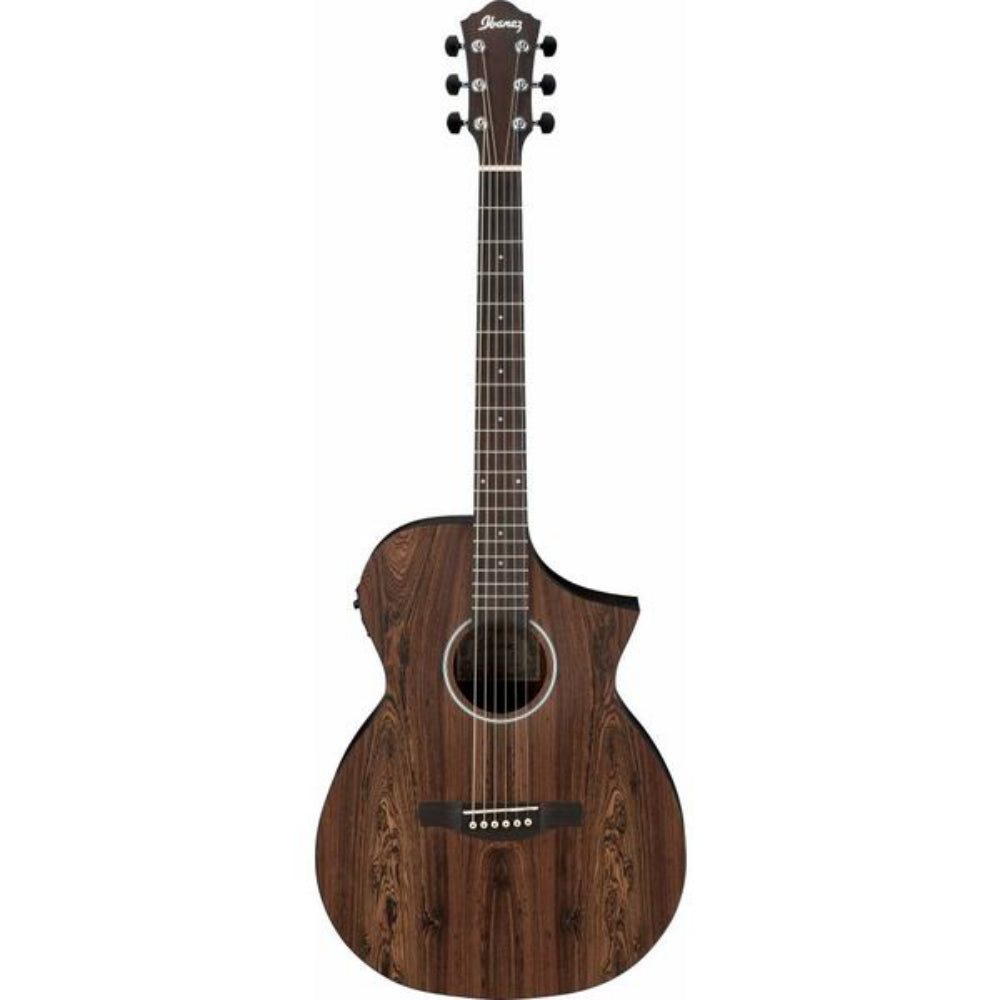 Ibanez AEWC31BC OPN Acoustic-Electric Guitar - Bacote Wood