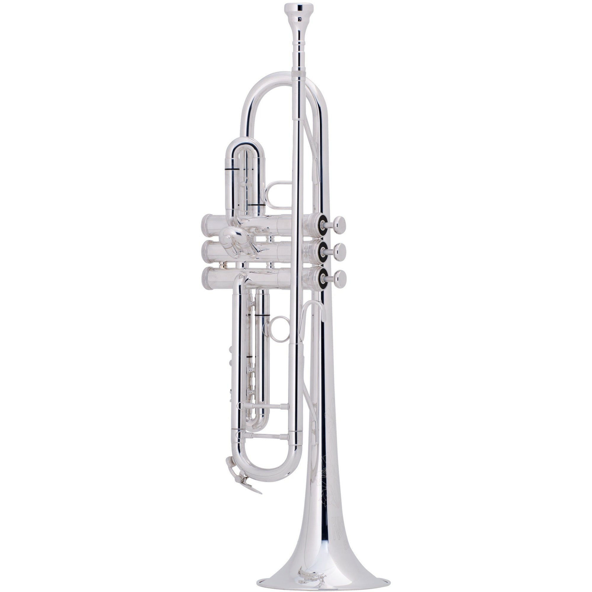 King 2055S Silver Flair Bb Trumpet | Kincaid's Is Music