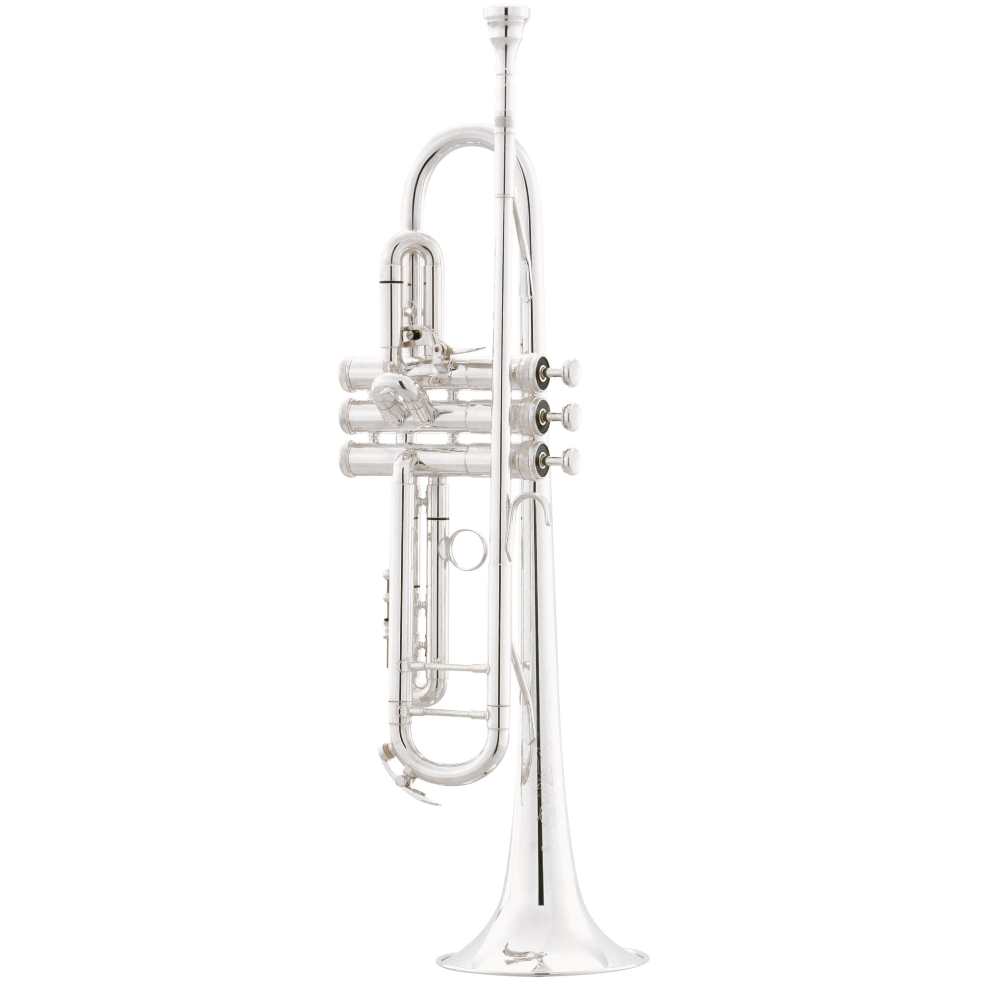 The King 2055T Silver Flair Bb Trumpet | Kincaid's Is Music