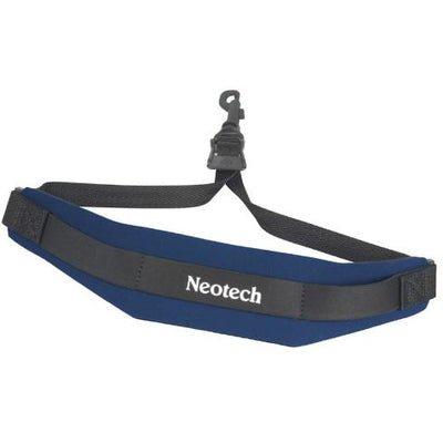 Navy Regular Neotech Soft Sax Strap with Swivel Hook