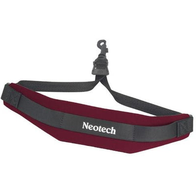 Wine Regular Neotech Soft Sax Strap with Swivel Hook