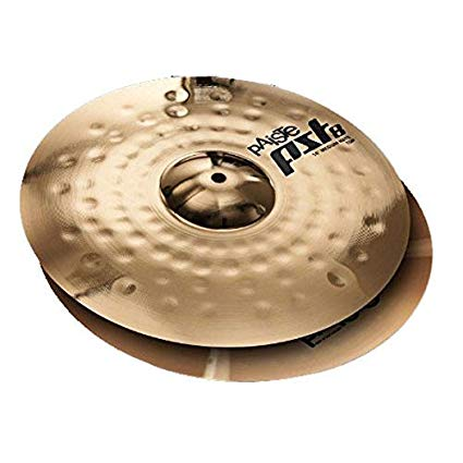 "Paiste PST8 Reflector 14"" Sound Edge Hi-Hat Cymbals 