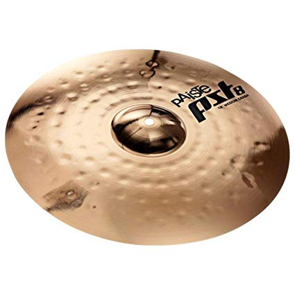 "Paiste PST8 Reflector 16"" Medium Crash Cymbal"