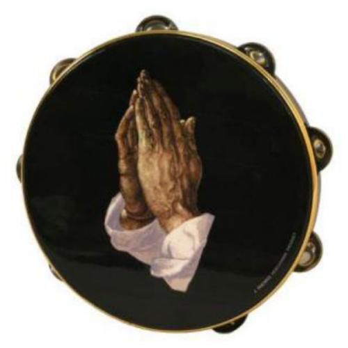 "Remo 10"" Tambourine, Praying Hands"