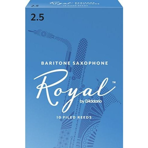 Rico Royal Baritone Saxophone Reeds | Kincaid's Is Music