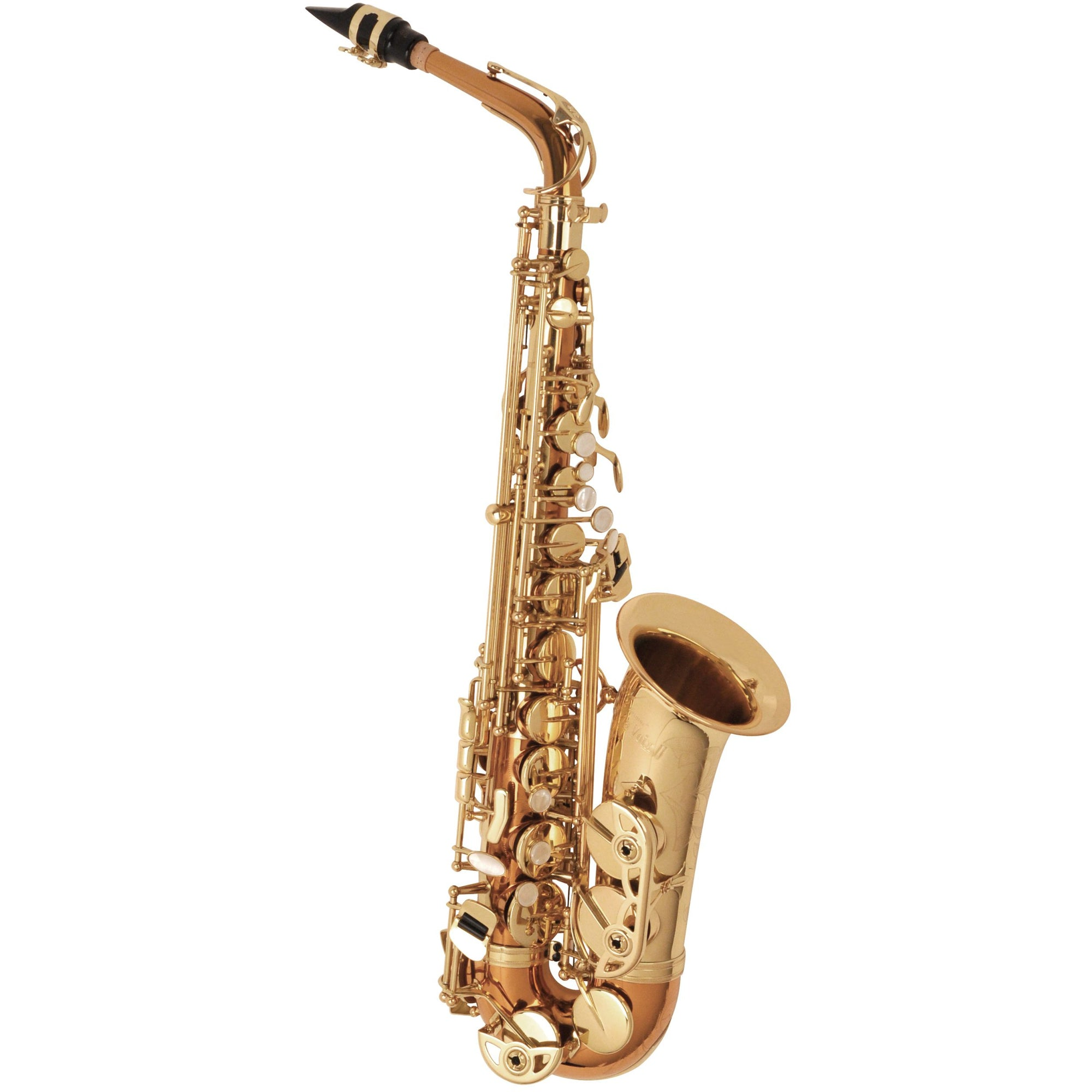The Selmer SAS280RC LaVoix II Alto Saxophone Outfit - Copper Brass