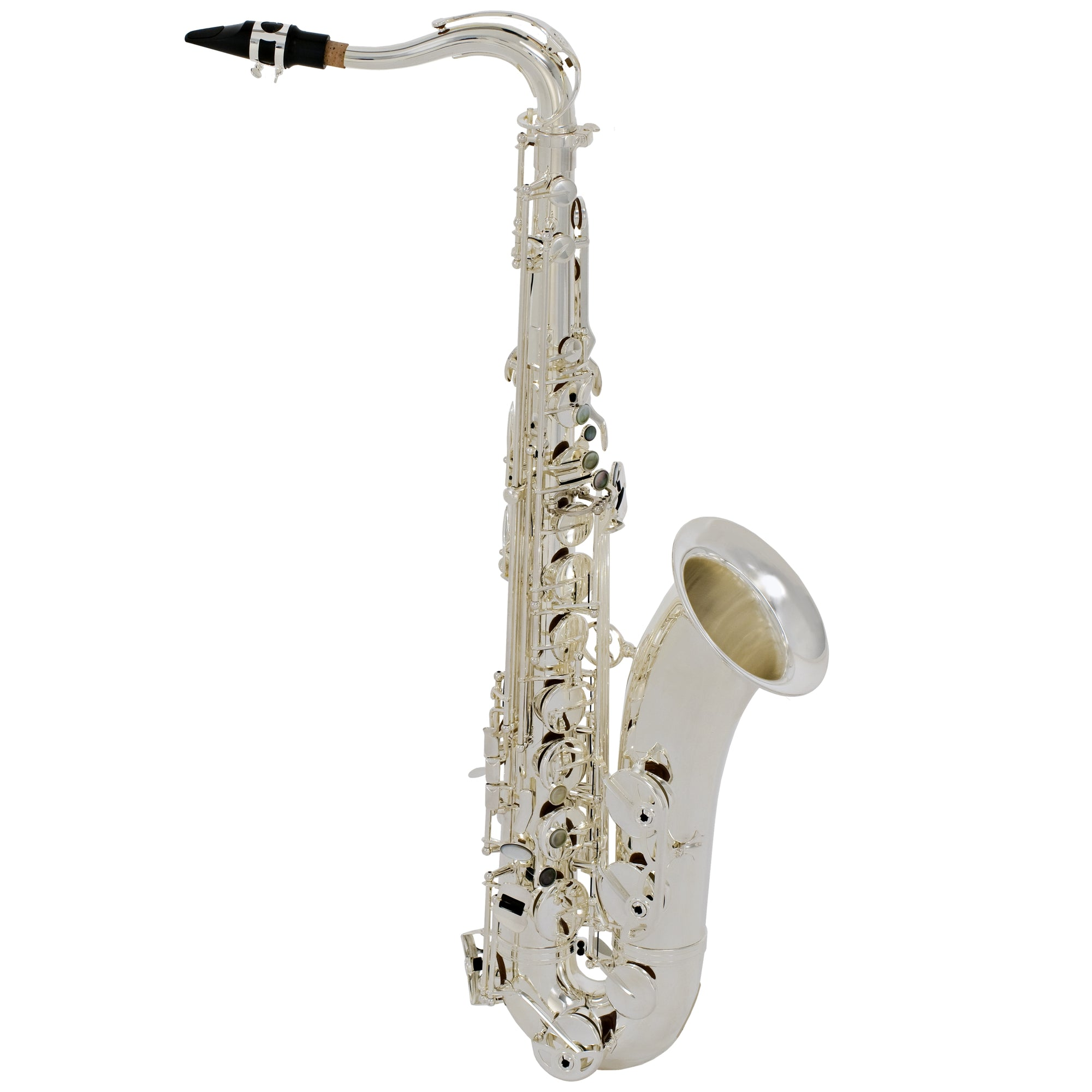 Selmer LaVoix II Tenor Saxophone Outfit - Silver-Plated | Kincaid's Is Music