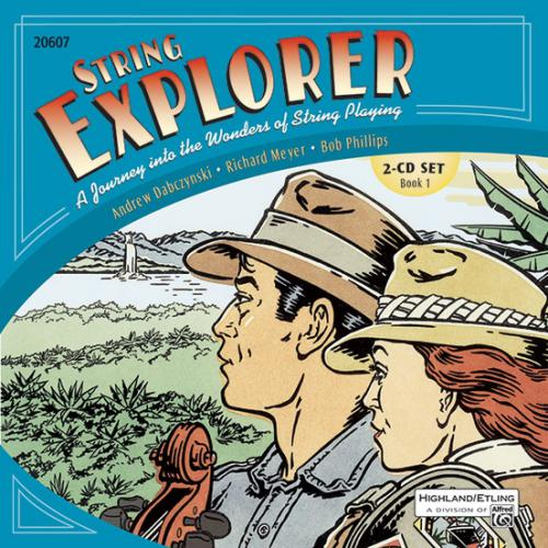 String Explorer, Book 1 & Interactive CD