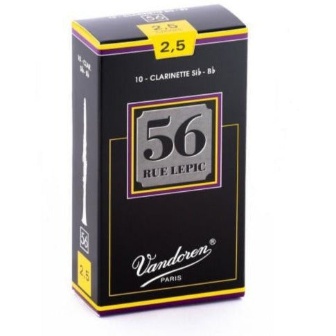 Vandoren 56 Rue Lepic Bb Clarinet Reeds | Kincaid's Is Music
