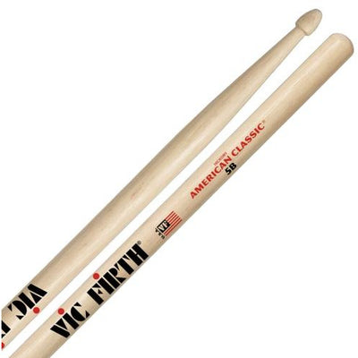 Vic Firth American Classic Hickory 5B Wood-Tip Drumsticks