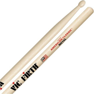 Vic Firth American Classic Hickory Metal Wood-Tip Drumsticks