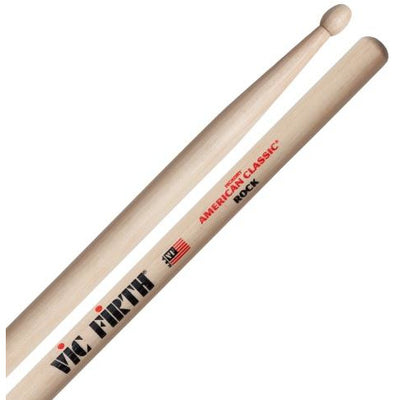 Vic Firth American Classic Hickory Rock Wood-Tip Drumsticks