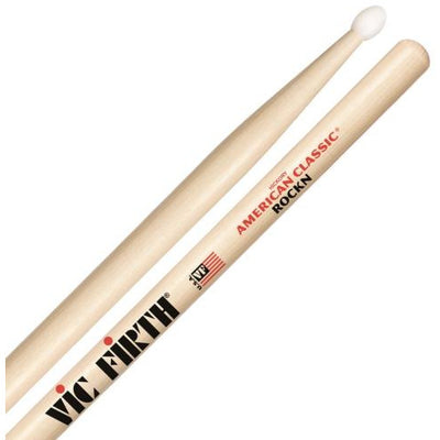 Vic Firth American Classic Hickory ROCK N Nylon-Tip Drumsticks