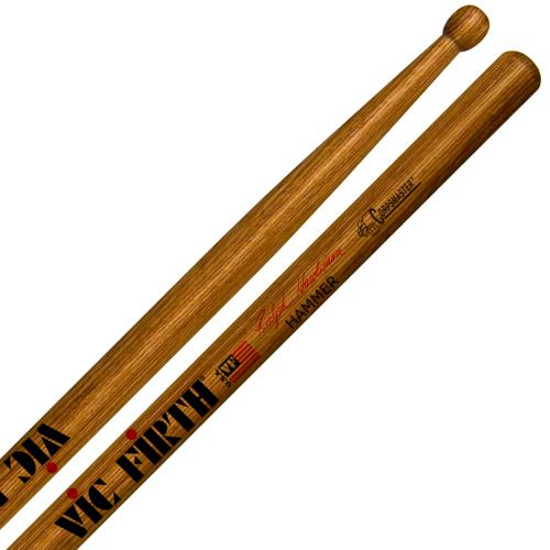 "Vic Firth Ralph Hardimon ""Hammer"" Corpsmaster Signature Marching Snare Drum Sticks 