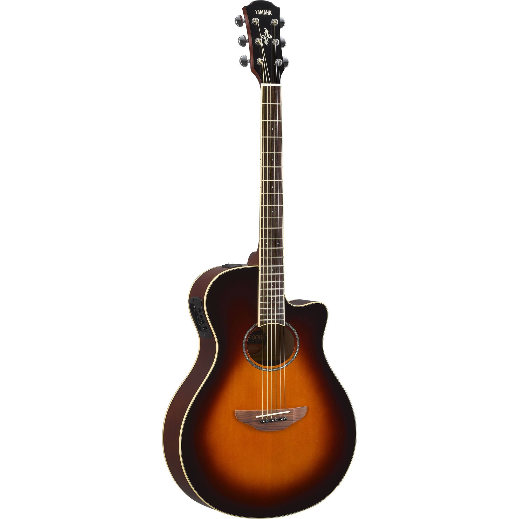 Yamaha APX600OVS Thinline Acoustic-Electric Guitar
