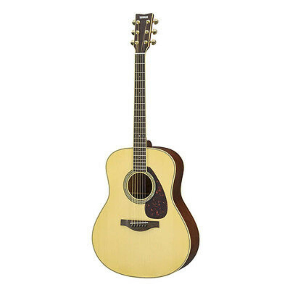 Yamaha LL6M ARE Jumbo Acoustic-Electric Guitar - Natural Finish