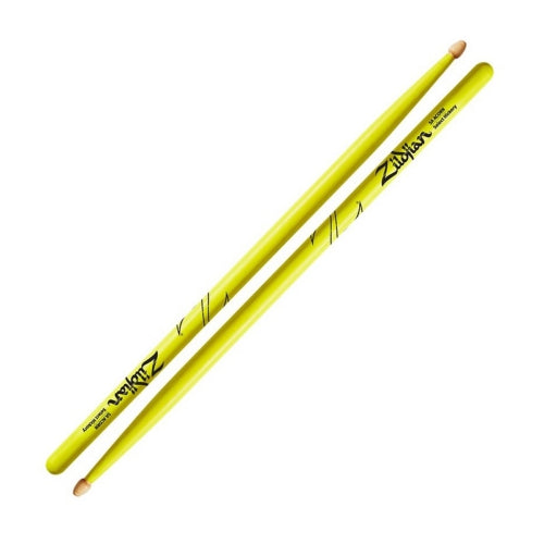 Zildjian Hickory Neon Series 5A Drumsticks - Yellow