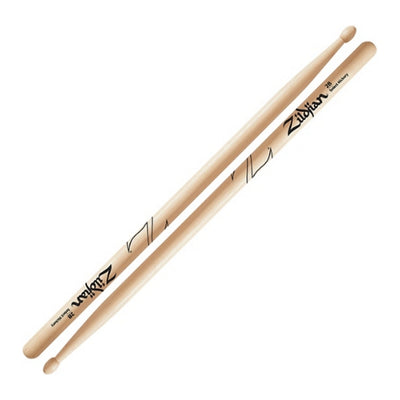 Zildjian Natural Hickory 2B Wood-tip Drumsticks