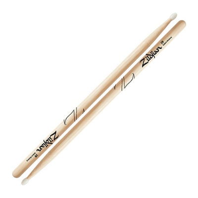 Zildjian Natural Hickory 2B Nylon-tip Drumsticks