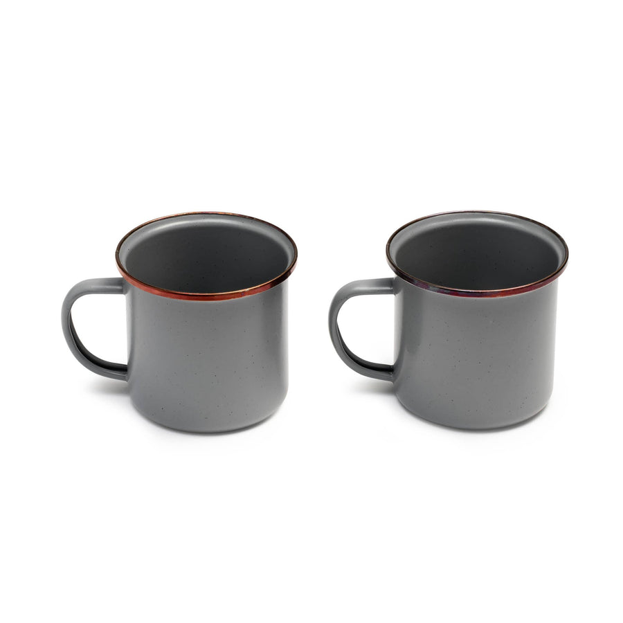 Campfire Enamel Cup (Set of 2) - B&T Home Goods