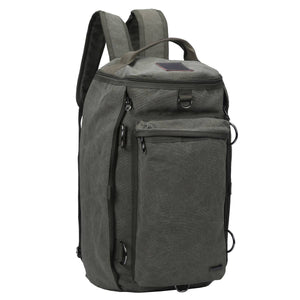 Large Weekender Duffel Bag Charcoal/Black - B&T Accessories