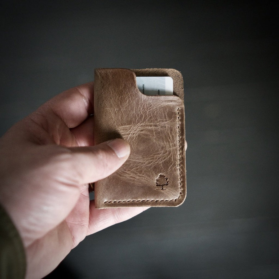Natural Hyde Wallet by Forest & Hyde - B&T Accessories