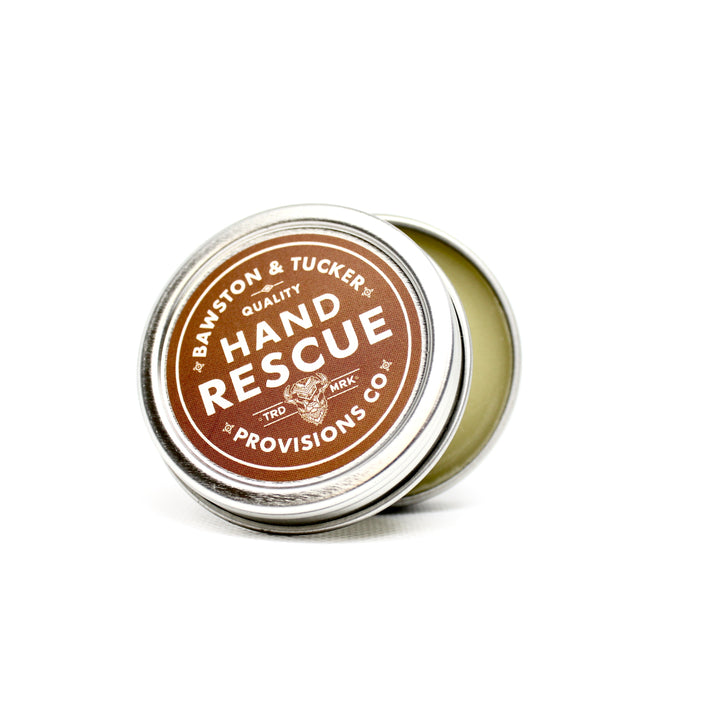 Hand Rescue Balm opened