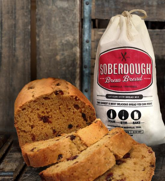 Cranberry Orange Beer Bread Mix 16 oz - B&T Pantry