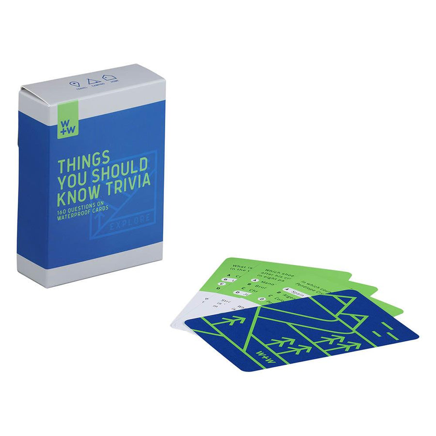 Things You Should Know Trivia Cards- B&T Home Goods
