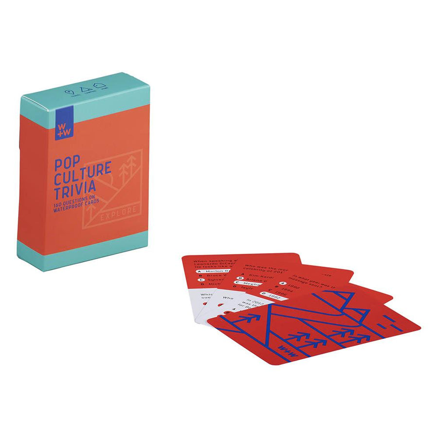 Pop Culture Trivia Cards- B&T Home Goods