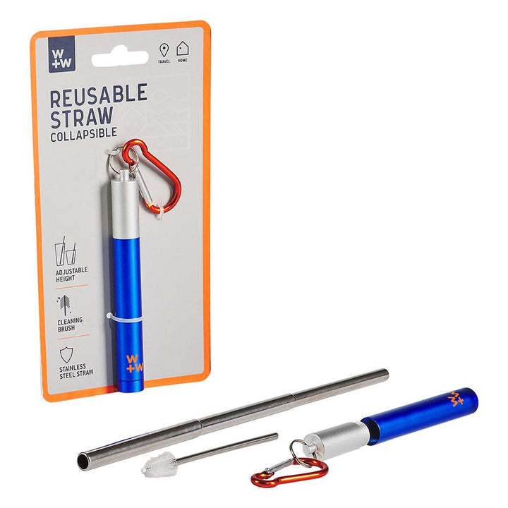 Reusable Straw-Stainless Steel- B&T Home Goods