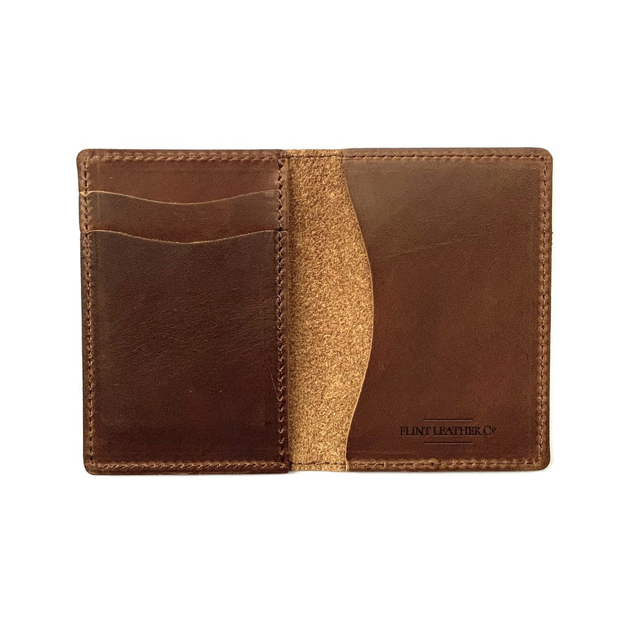 The Whiskey Wallet - Shaka -Flint Leather Co.- B&T Accessories