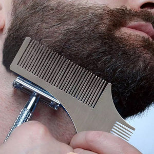 beard shaping how to