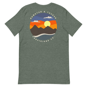 Sunset Short-Sleeve Comfy & Soft Tee - B&T Threads