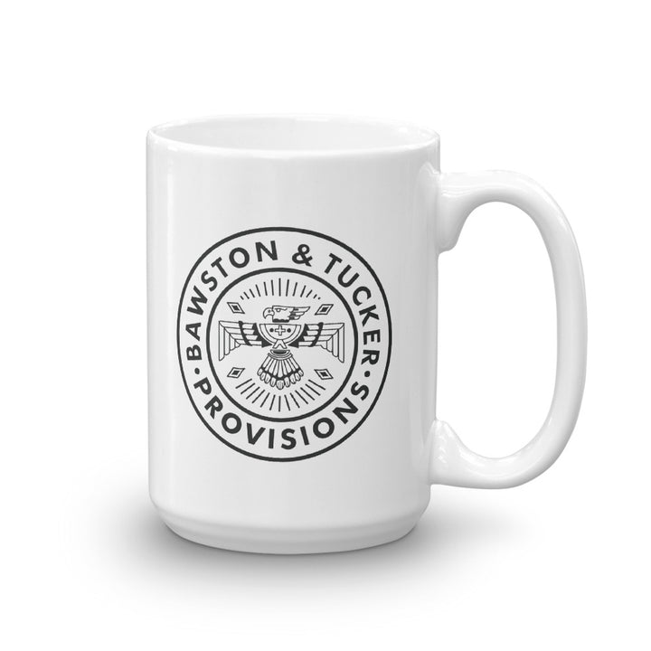 B&T Flag & Logo Coffee Mug - White Gloss