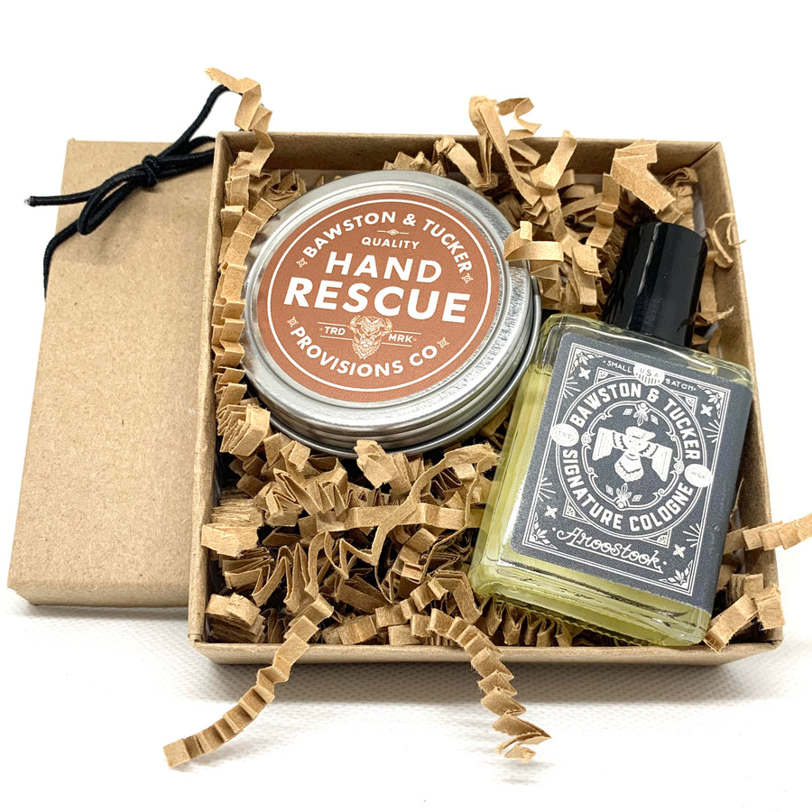 Hand Rescue + Cologne Oil Gift Set