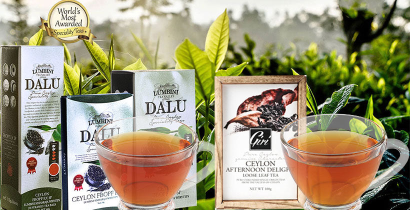 Ceylon Afternoon Tea Header