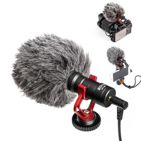 BY-MM1 Video Microphone - My Trendify Shop