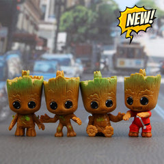Mini Baby Groot 4pcs per Set - My Trendify Shop